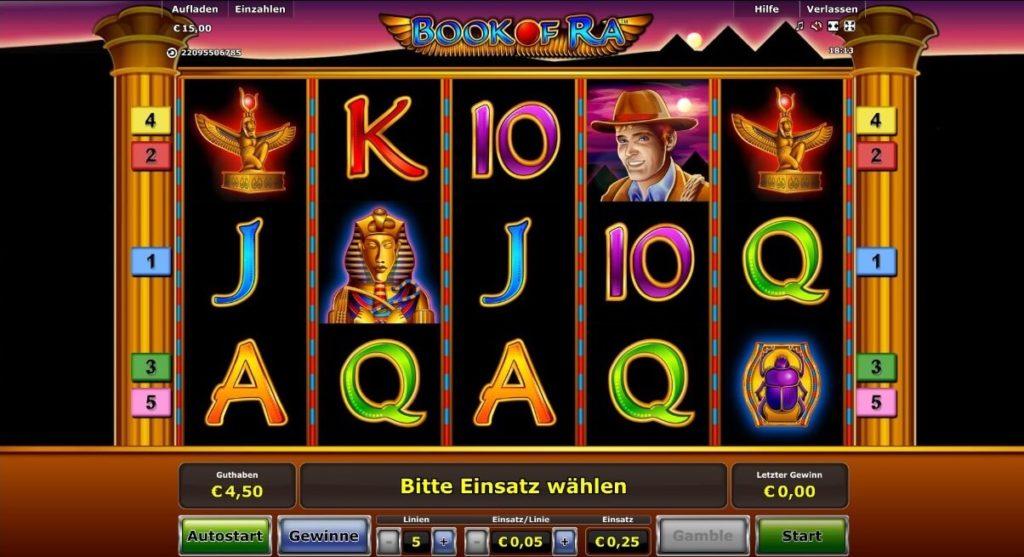 Book of Ra einer der beliebtesten Spielautomaten