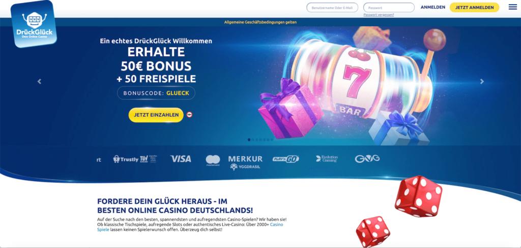 DrückGlück Online Casinos
