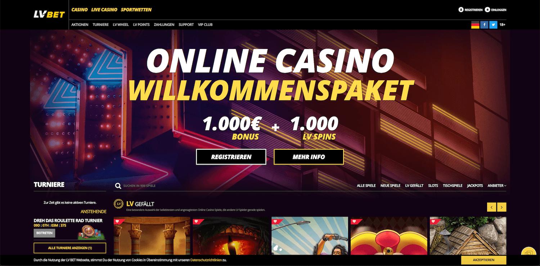 Startseite LVBet Casino
