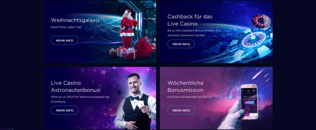 genesis casino aktionen