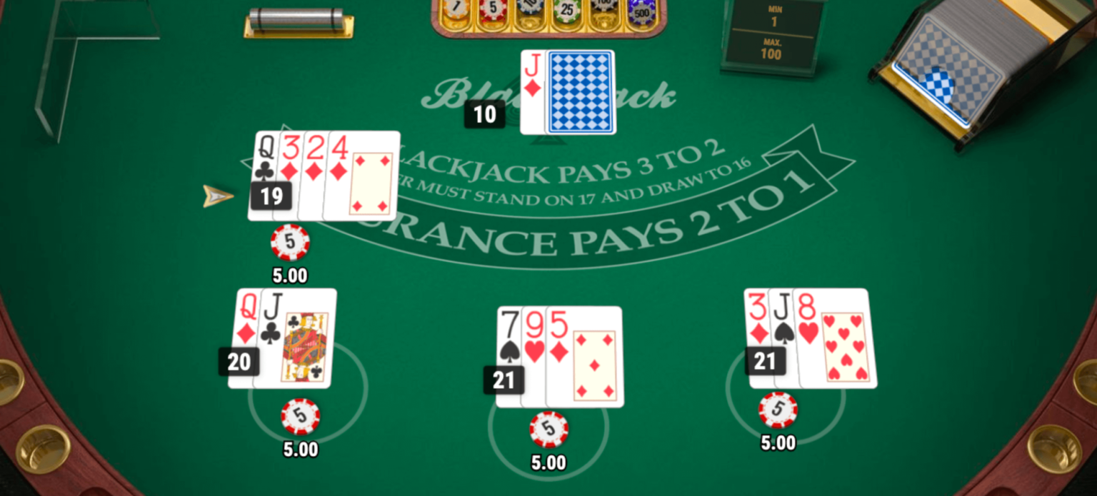 Blackjack bei Hyperino