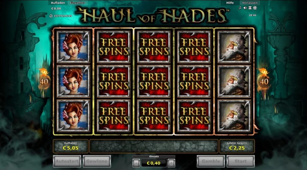 Freispiele Haul of Hades