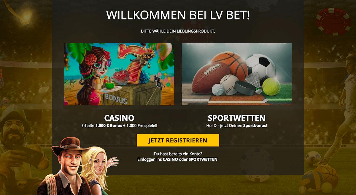 LVBet Casino Bonusangebot