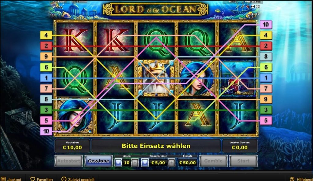online casino lord of the ocean
