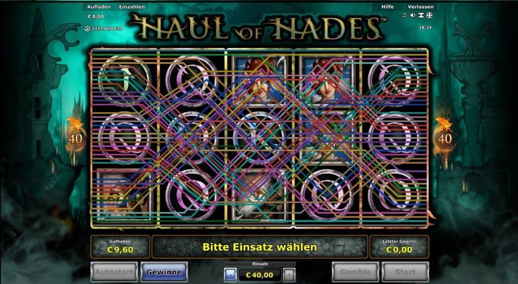 Aufbau Haul of Hades