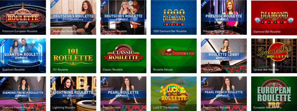 Roulette im Casinoclub