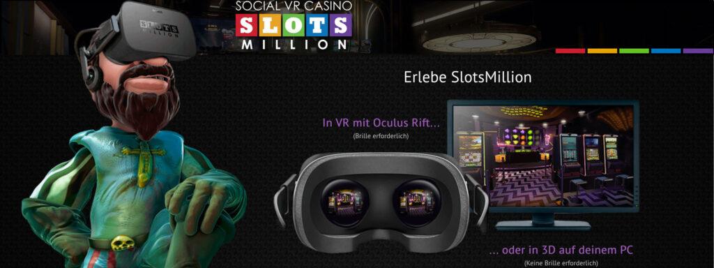 Slotsmillion VR Banner