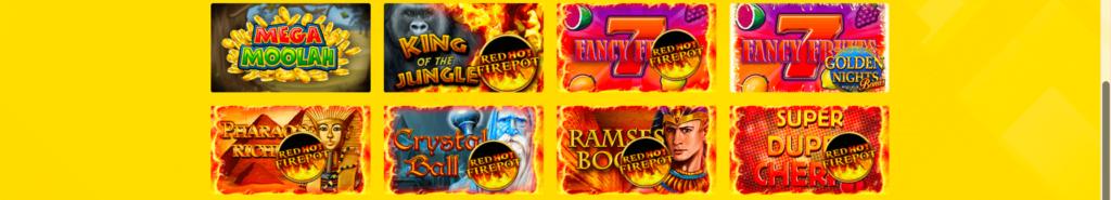 Jackpot Slots im Hyperino Casino