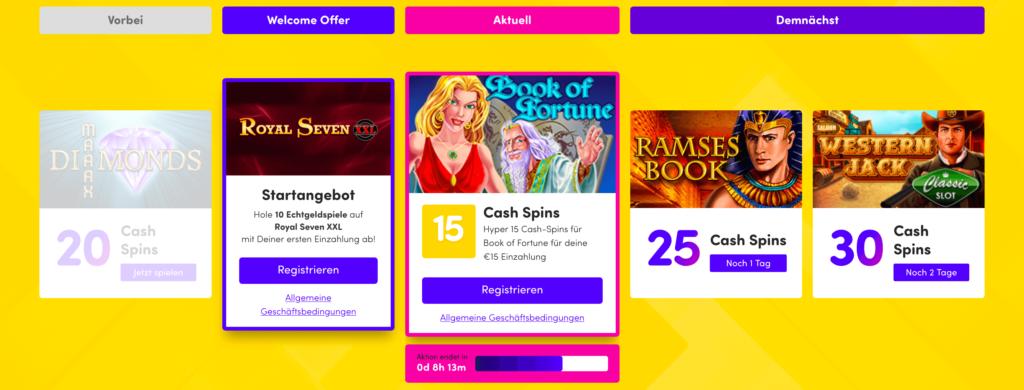 Bonusangebote im Hyperino Casino