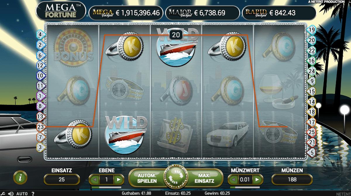 Jackpotslot Mega Fortune