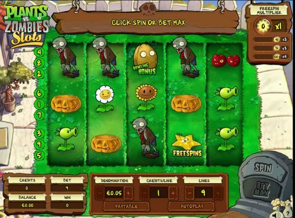 IGT Slot Plants vs. Zombie