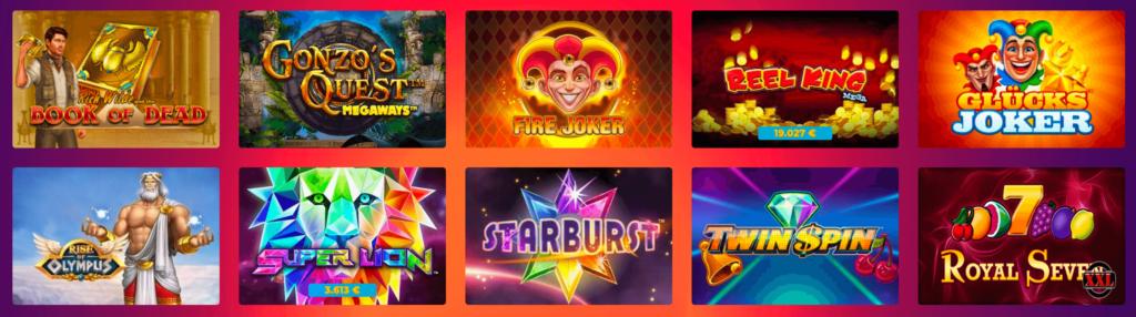 casino gods slots