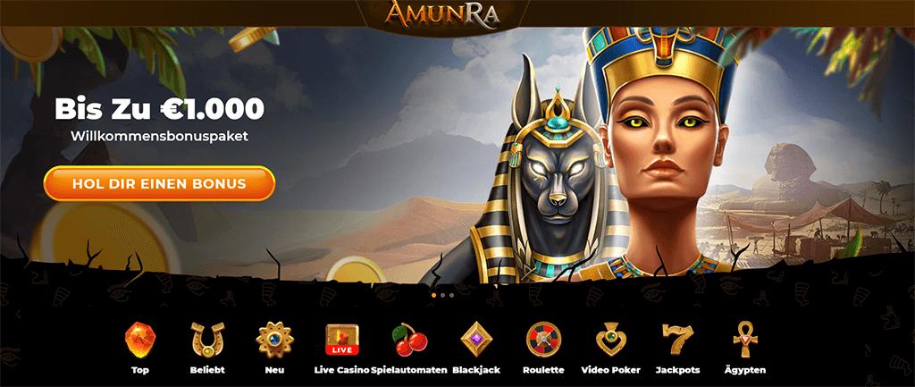 Amun Ra Casino Website