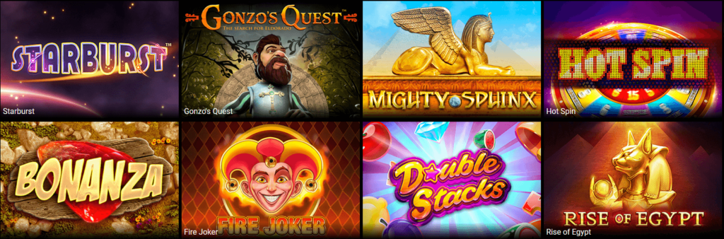 Spiele bei Lucky Thrillz