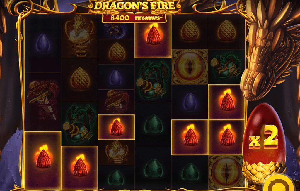 Dragons fire Megaways spielen
